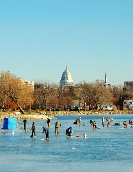 Photograph - January Ice by Todd Klassy