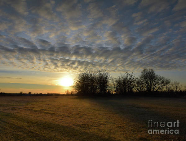 Photograph - January Sunset by Charles Owens