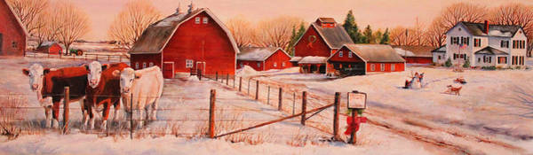 Wall Art - Painting - January Thaw by Toni Grote