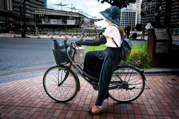 Photograph - Japan Bike by Max Neivandt