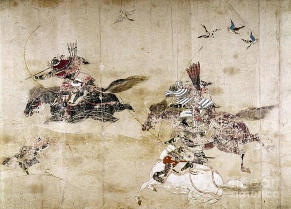 Photograph - Japan: Gosannen War, C1086 by Granger
