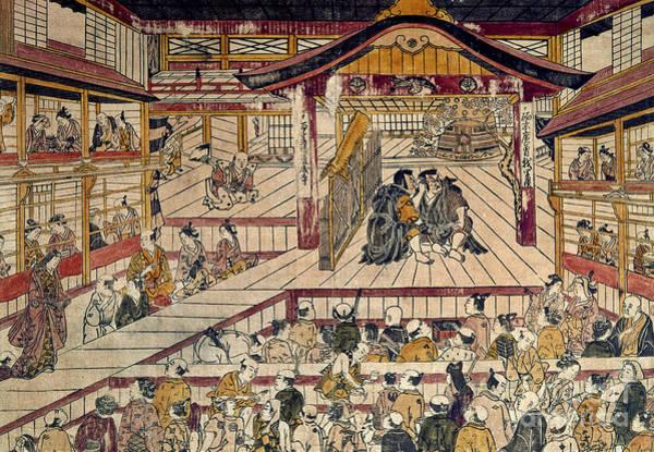 Photograph - Japan: Kabuki Theater by Granger