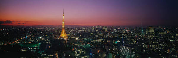 After Dark Photograph - Japan, Tokyo by Panoramic Images