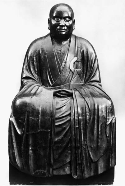 Feudal Japan Wall Art - Photograph - Japan: Zen Priest by Granger