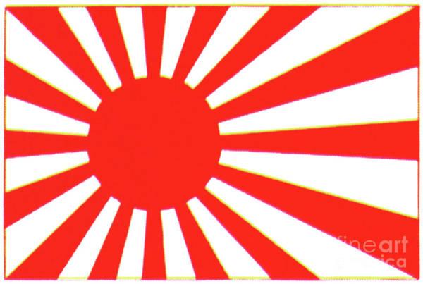 Painting - Japanese Flag by Granger