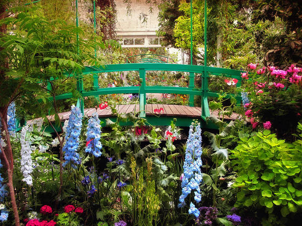 Giverny Photograph - Japanese Footbridge by Jessica Jenney
