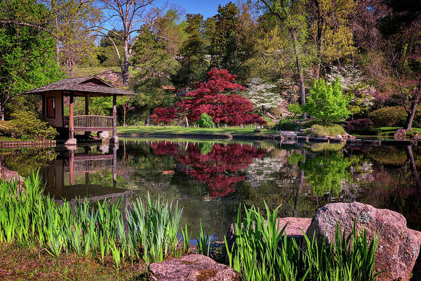 Wall Art - Photograph - Japanese Garden At Maymont by Rick Berk