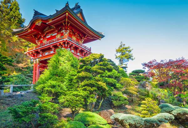 Photograph - Japanese Garden by John M Bailey