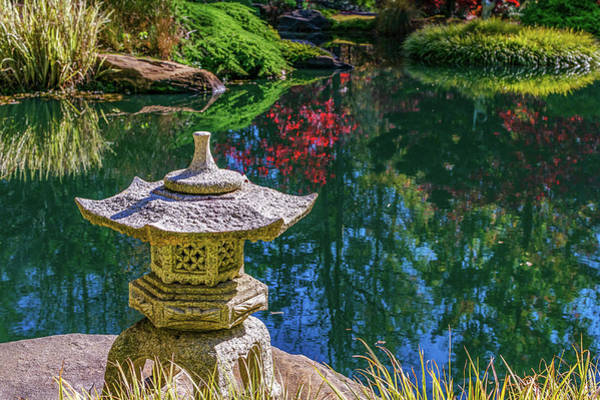Photograph - Japanese Garden by Keith Smith