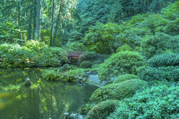 Wall Art - Photograph -  Japanese Garden, Portland by Art Spectrum
