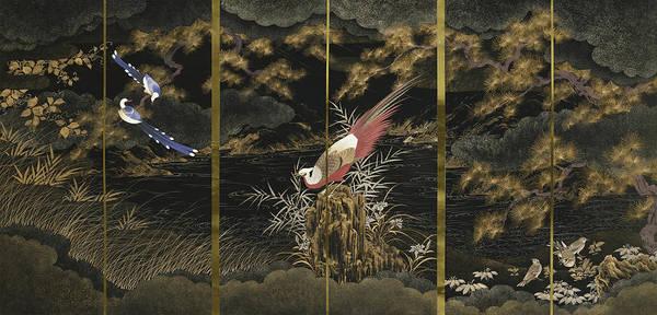 Wall Art - Painting - Japanese Modern Interior Art #157 by ArtMarketJapan