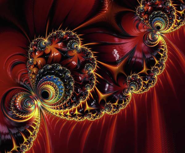 Digital Art - Japanese Ornamentation by Isabella Howard