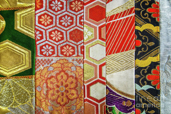 Wall Art - Photograph - Japanese Patchwork by Delphimages Photo Creations