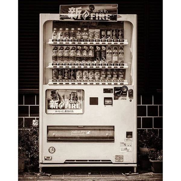 Japan Photograph - #japanese #soda Machine. They Sell by Alex Snay