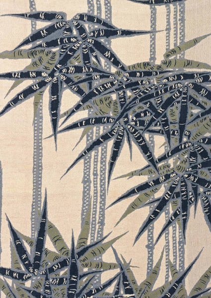 Bamboo Painting - Japanese Style Bamboo Forest Modern Interior Art Painting. by ArtMarketJapan