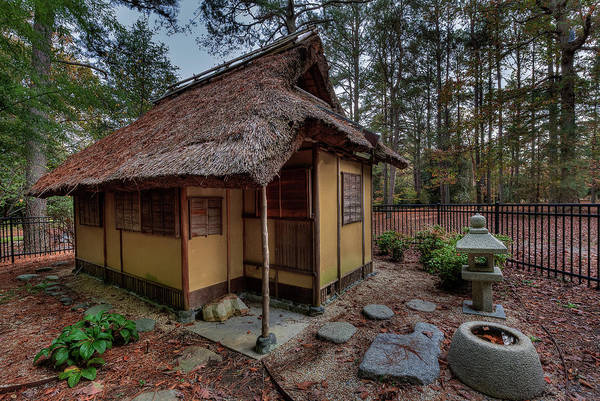 Photograph - Japanese Tea House by Jerry Gammon