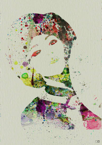 Wall Art - Painting - Japanese Woman by Naxart Studio
