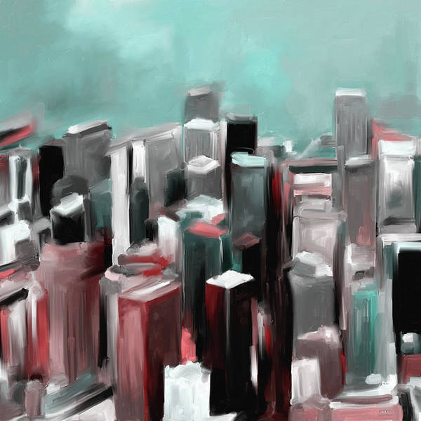Chinatown Painting - Japantown San Francisco 559 3 by Mawra Tahreem