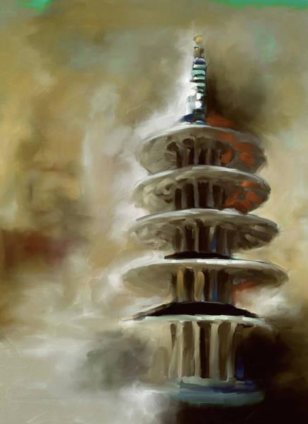 Chinatown Painting - Japantown San Francisco by Mawra Tahreem