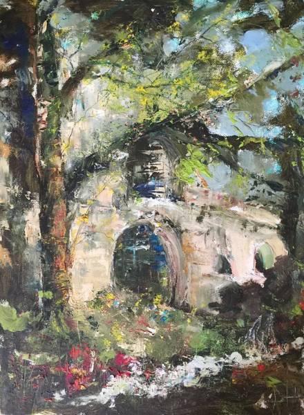 Jardin D'au Paradis  Art Print