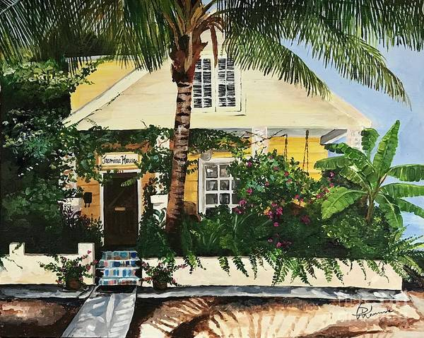 Painting - Jasmine House by Denise Morencie