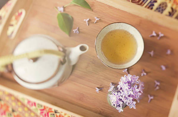 Jasmine Tea Photograph - Jasmine Tea And Lilac by Margaret Goodwin