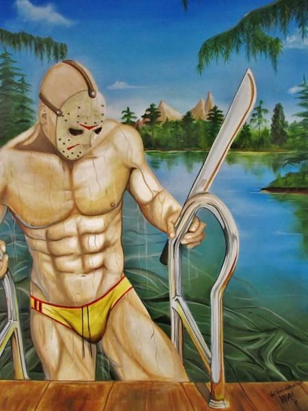 Homo Painting - Jason    by Karl Von Frankenstein