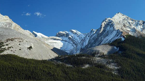 Photograph - Jasper Mountain Scene by Pierre Leclerc Photography