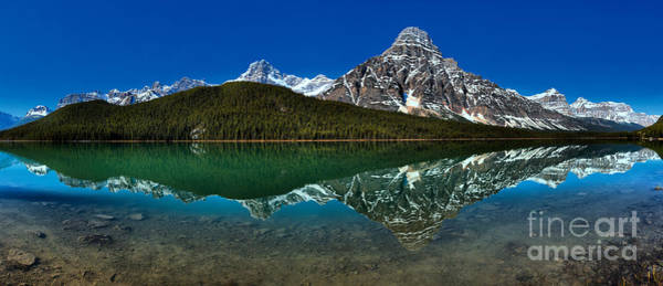 Photograph - Jasper Waterfowl Lakes Morning Reflections by Adam Jewell