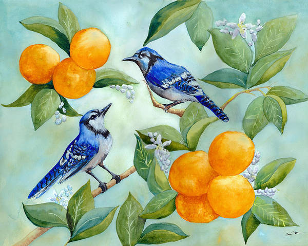 Wall Art - Painting - Jay Chat by Susy Soulies
