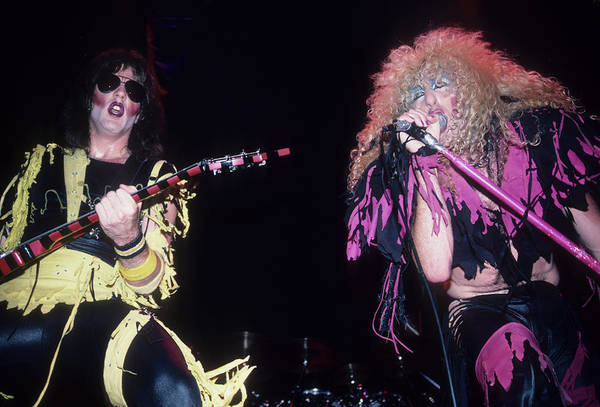 Photograph - Jay Jay French And Dee Snider by Rich Fuscia