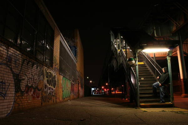Subway Photograph - Jayhoc Waits by Jason Hochman