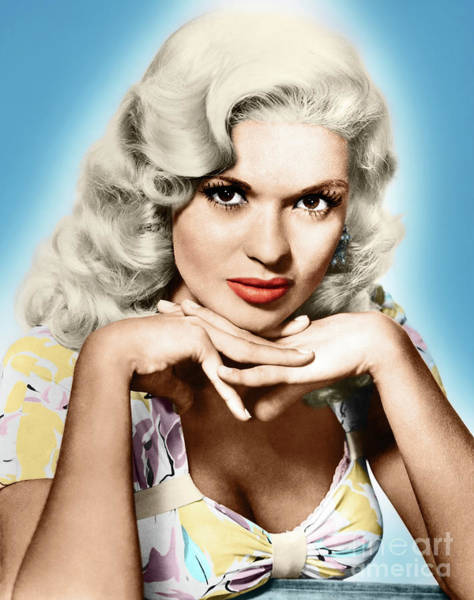 Photograph - Jayne Mansfield by Granger