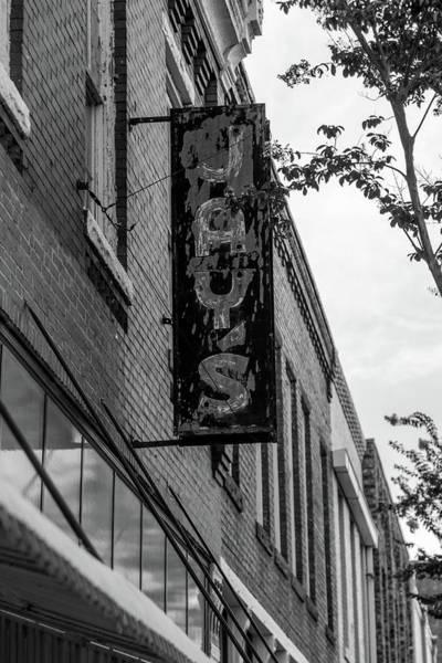 Photograph - Jay's Sign In Bw by Doug Camara