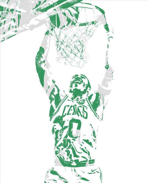 Wall Art - Mixed Media - Jayson Tatum Boston Celtics Pixel Art 10 by Joe Hamilton