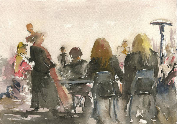 Painting - Jazz At Panama 66 by Brian Meyer