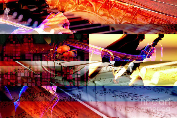 Wall Art - Photograph - Jazz Chords by John Rizzuto