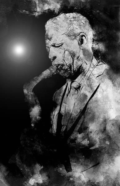 Free Jazz Painting - Jazz Legend by Steve K