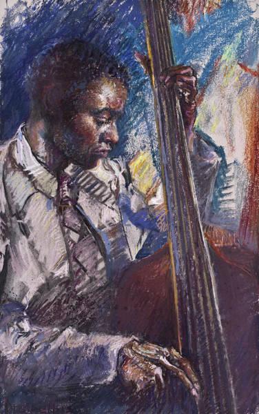 Painting - Jazz Man by Ellen Dreibelbis