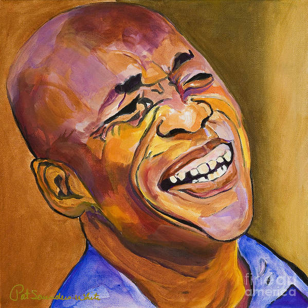 Painting - Jazz Man by Pat Saunders-White