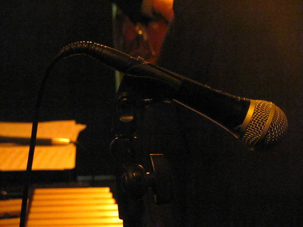 Photograph - Jazz Microphone by Anita Burgermeister