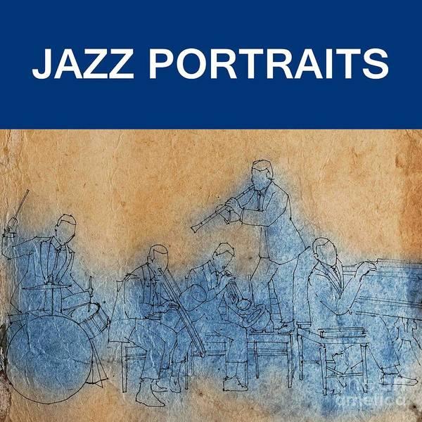 Wall Art - Drawing - Jazz Portraits by Drawspots Illustrations