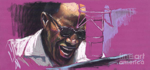 Figurative Wall Art - Painting - Jazz Ray by Yuriy Shevchuk