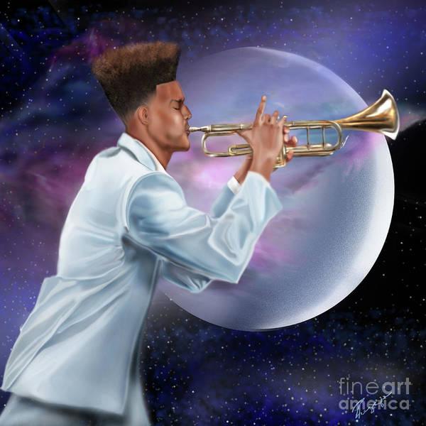 Painting - Jazz Universe by Reggie Duffie