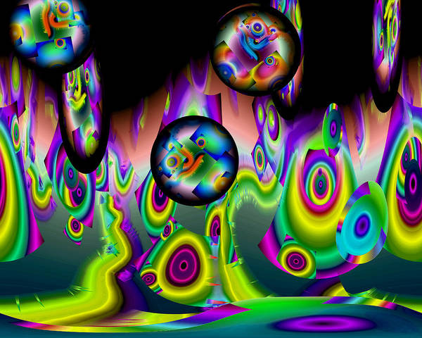 Digital Art - Jazzin It Up by Lynda Lehmann