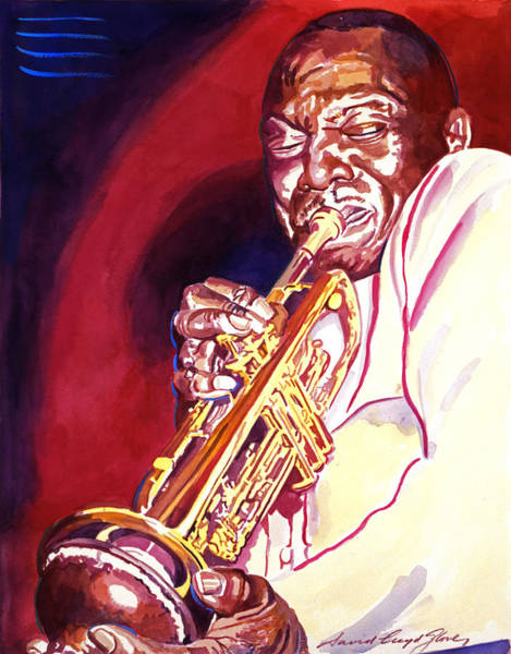 Painting - Jazzman Cootie Williams by David Lloyd Glover