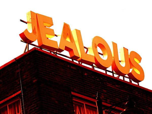 Wall Art - Photograph - Jealous In London  by Funkpix Photo Hunter