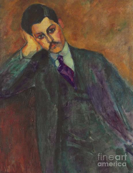 Modigliani Painting - Jean Alexandre by Amedeo Modigliani