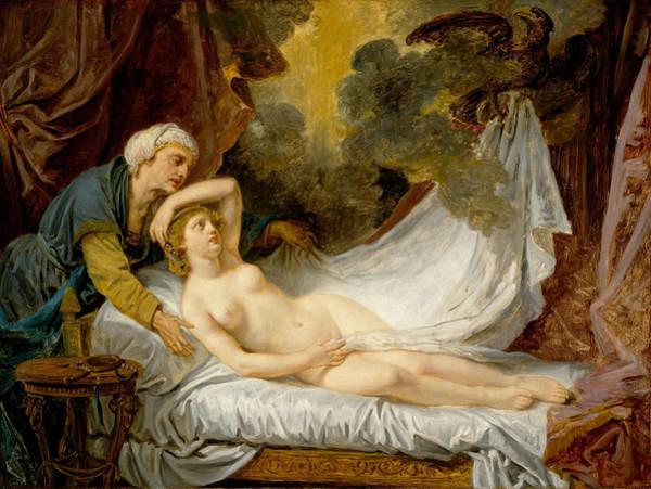 Photograph - Jean Baptiste Greuze by Aegina Visited Jupiter