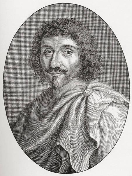 Wall Art - Drawing - Jean-louis Guez De Balzac, 1597 - 1654 by Vintage Design Pics